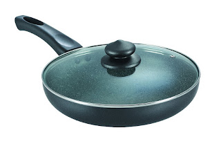 Prestige Omega Deluxe Granite Fry Pan with Lid