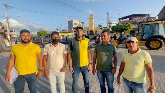 DESENVOLVIMENTO: Vila de Santana recebe recapeamento asfáltico