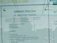 Loker sebagai Sales Force Ambassador (SFA) Canvasser (CVS) Direct Selling (DS)