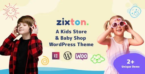 Best Baby Fashion WooCommerce Theme