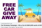 World Wide Car Giveaway Campaign