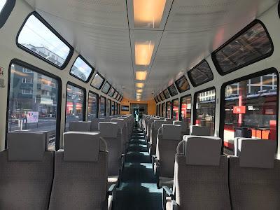 Brigからツェルマットの電車