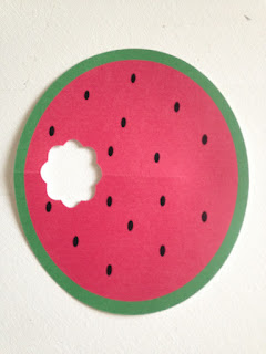 Silhouette Studio, free cut file, watermelon card, Silhouette Cameo, paper cards
