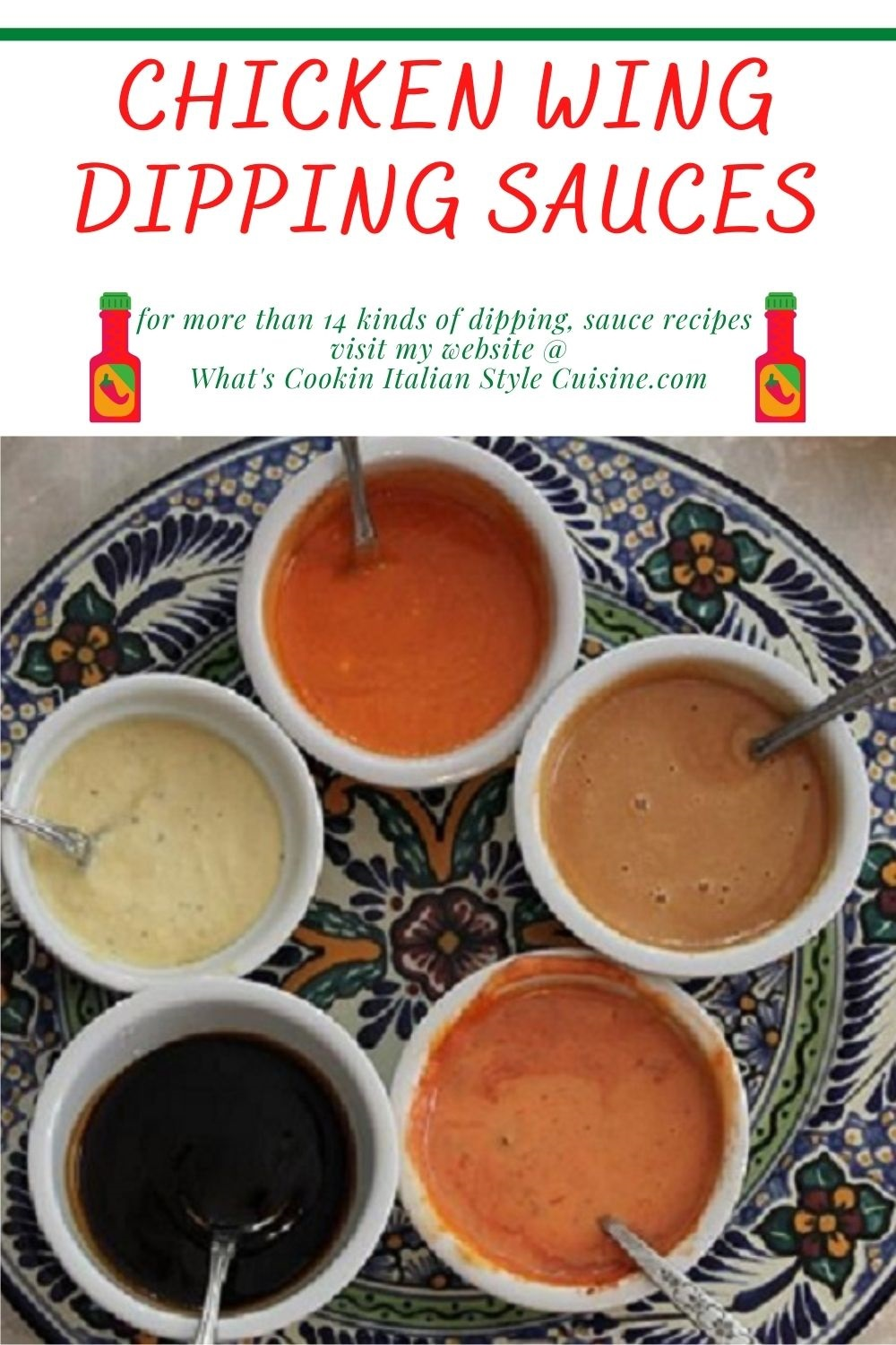 this is a pin for later on how to make more than 14 kinds of dipping sauces