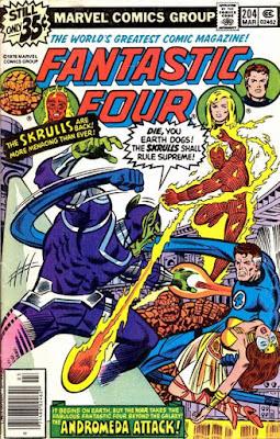 Fantastic Four #204, Skrulls