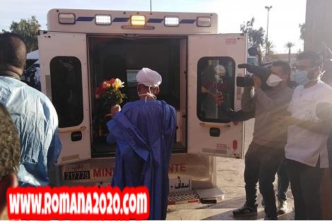أخبار المغرب سبعيني ينتصر على فيروس كورونا المستجد covid-19 corona virus كوفيد-19 بمدينة كلميم