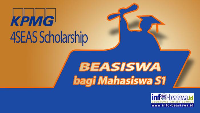 KPMG 4SEAS Scholarship bagi Mahasiswa