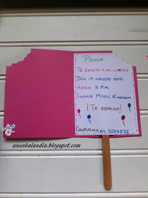 Invitación-cumpleaños-helado-Anuskalandia