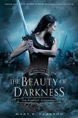 The Beauty of Darkness by Mary E. Pearson on Amber, the Blonde Writer blog