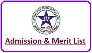 Jamalpur Mahavidyalaya Merit List