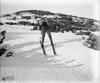 Esquiando en Matagalls (1909)