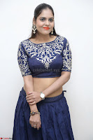 Ruchi Pandey in Blue Embrodiery Choli ghagra at Idem Deyyam music launch ~ Celebrities Exclusive Galleries 035.JPG