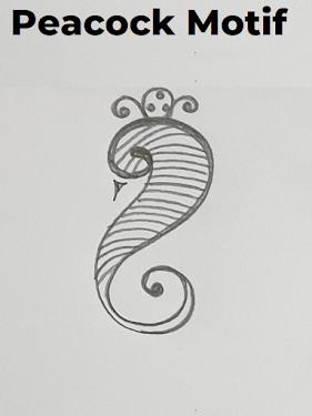 peacock-motif