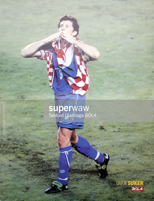 DAVOR SUKER CROATIA WORLD CUP 1998
