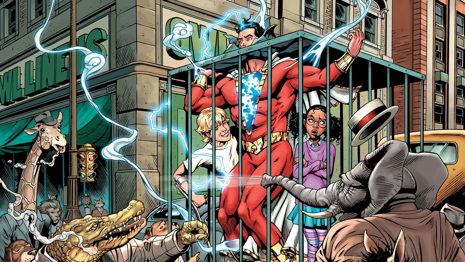 Weird Science Dc Comics Preview Shazam 4