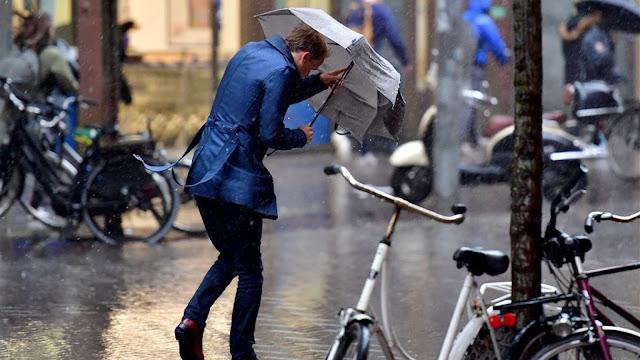 أول عاصفة هذا الشتاء ستضرب هولندا