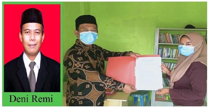 Janji Deni Remi; Serahkan Berkas, Pendaftaran (Balon) Kepala Desa Kota Guring