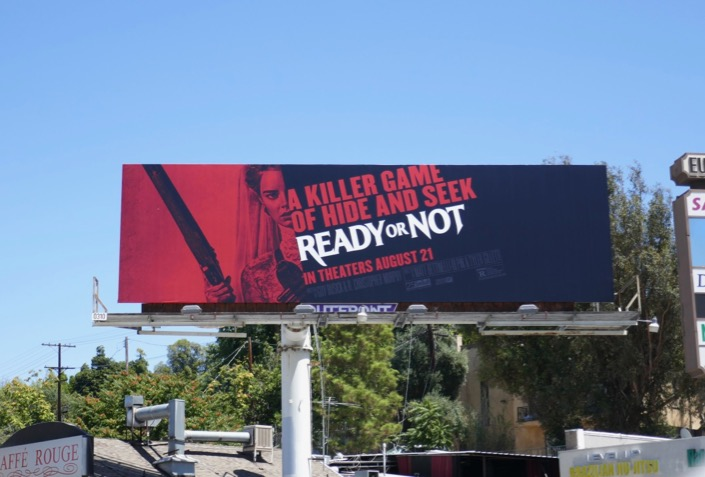 Ready or Not movie billboard