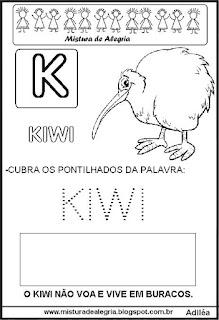 Bichonário desenho de Kiwi