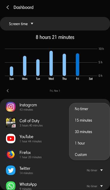 Cara Menggunakan Fitur Timer di HP Samsung