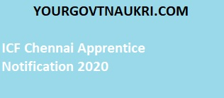 You can check here all ICF Chennai Apprentice recruitment details such as the ICF Chennai Apprentice salary, qualification, age limit, application fee, and selection process.