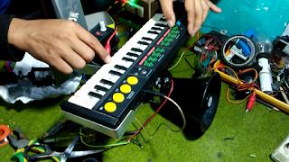 Tes Hasil Modifikasi Keyboards Drumband Anak-Anak