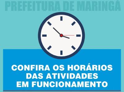 Horário de funcionamento do comércio e serviços em Maringá. Café com Jornalista