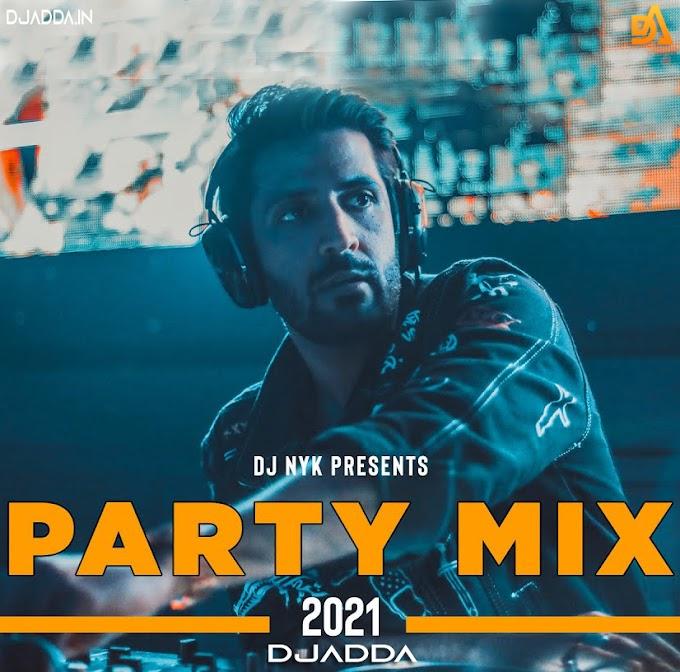 DJ NYK - New Year 2021 Party Mix | Yearmix | Non Stop Bollywood | Punjabi | English Remix Songs