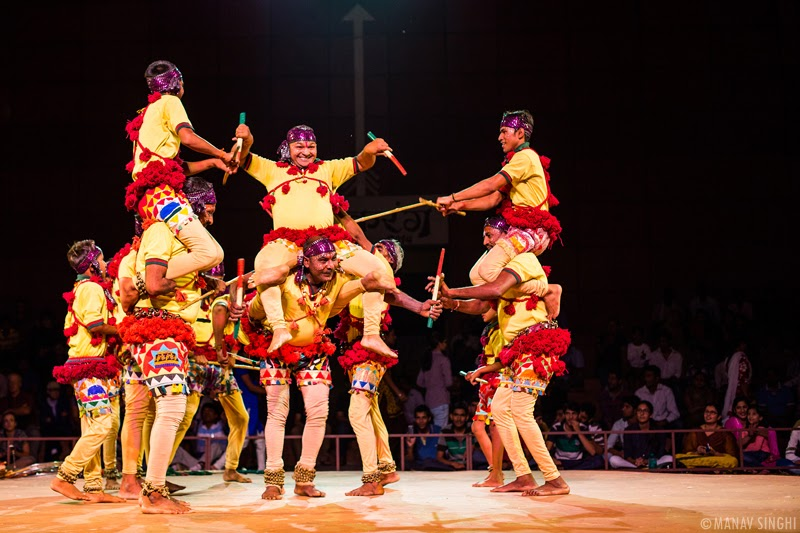 Pai Jhanda Folk Dance from Uttar Pradesh.