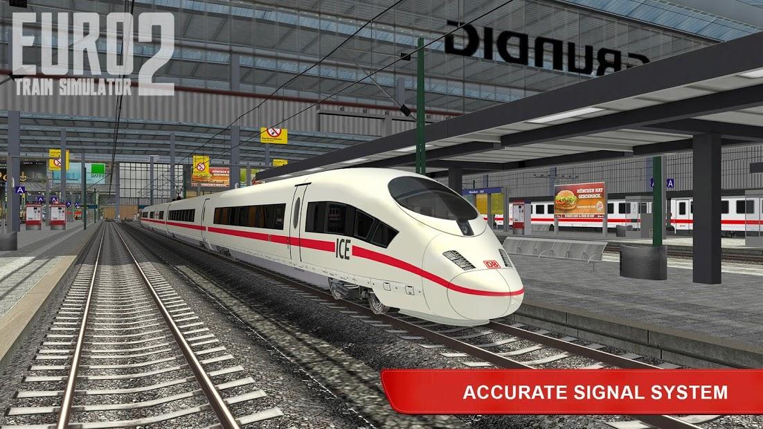 Euro Train Simulator 2 Hileli APK - Tüm Özellikler Açık Mod APK