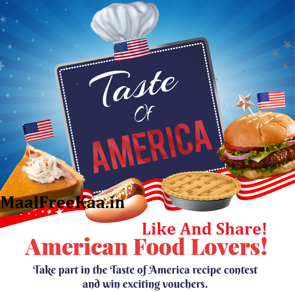 Test of america recipe contest win exciting vouchers free samples taste of america recipe contest forumfinder Choice Image
