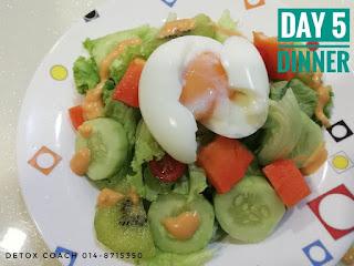 detox meal; eat clean idea; shaklee detox;; jom detox; shaklee detox style; shaklee labuan