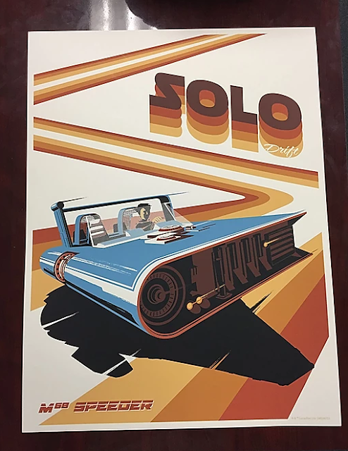 Star Wars Holiday Posters Solo
