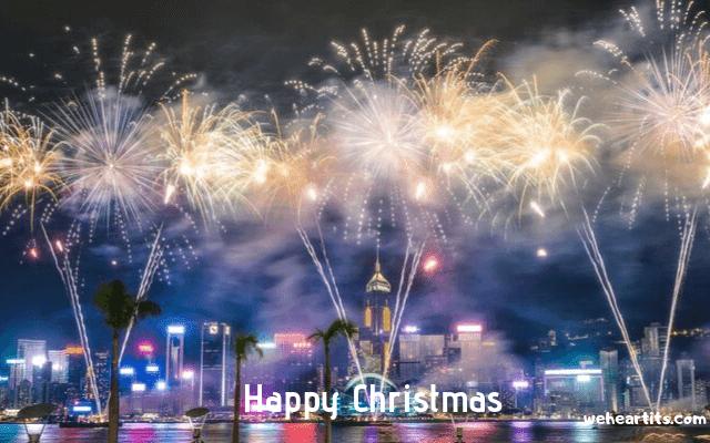 happy christmas images english