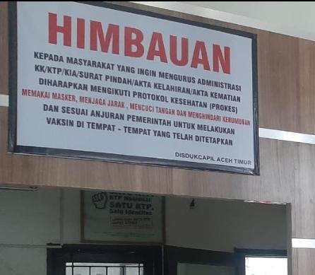 DISDUKCAPIL Himbau Masyarakat Patuhi Prokes Dalam Pengurusan Data