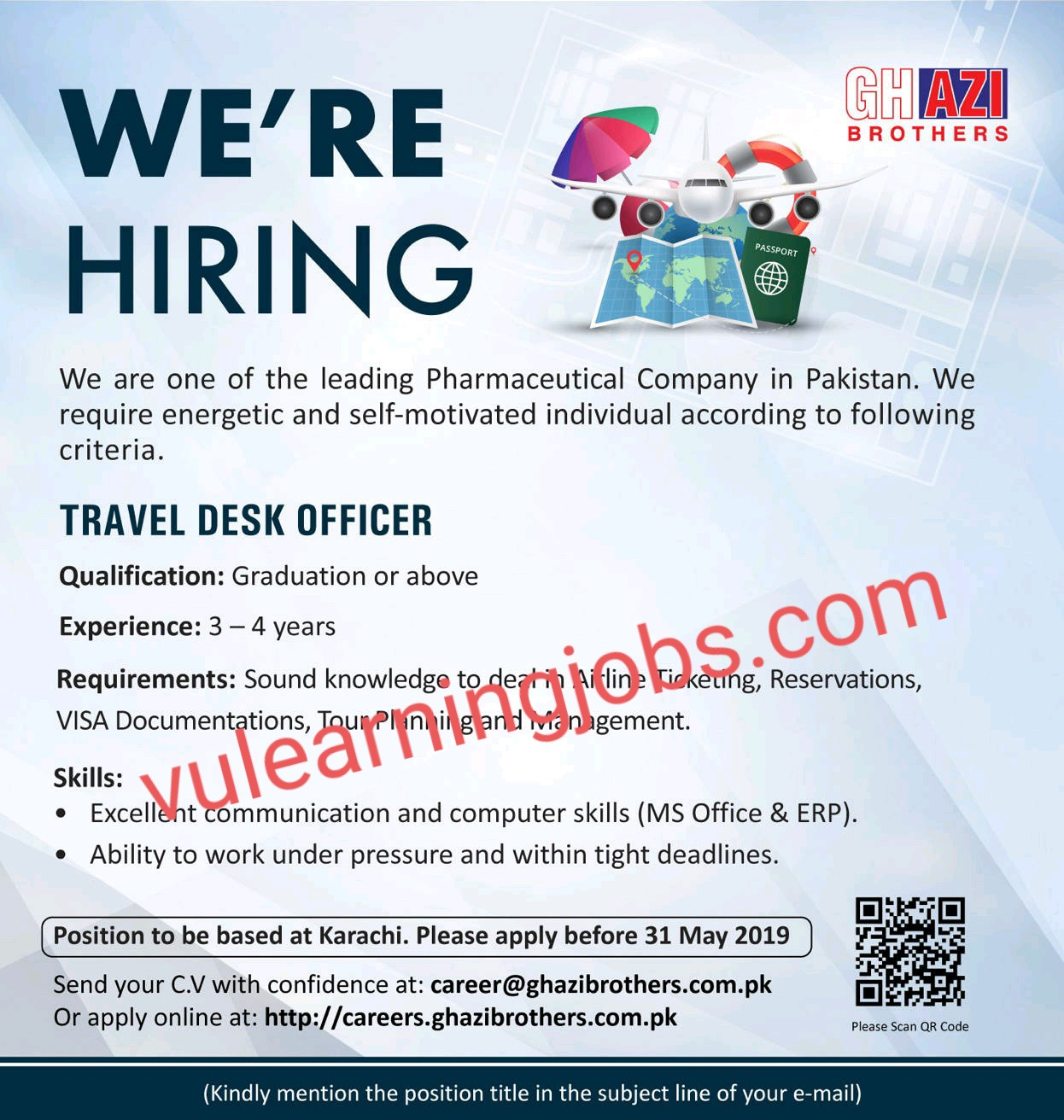 Ghazi Brothers Jobs In Pakistan May 2021 Latest   Apply Now