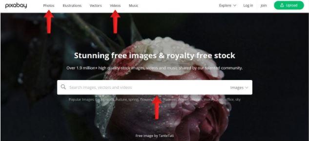 مواقع تحميل صور مجانية