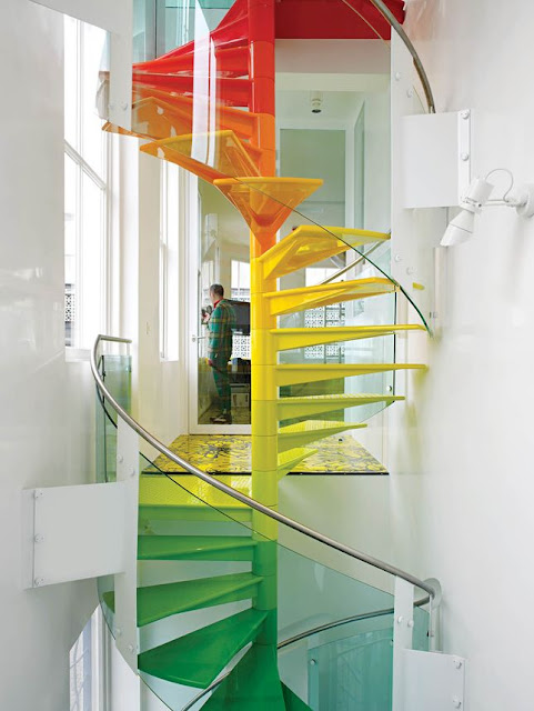 fire exit staircase design
