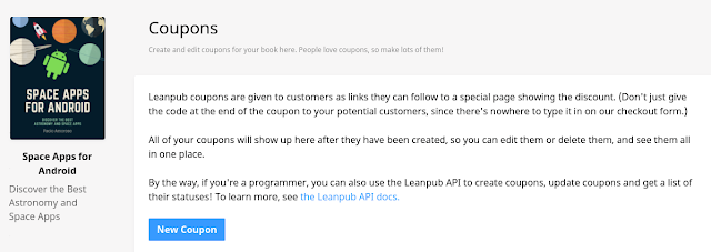 Leanpub coupon generator