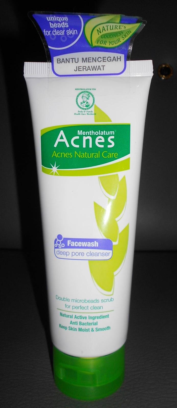 Review Acnes Facewash Deep Pore Cleanser Natural Care Face Wash Yogurt