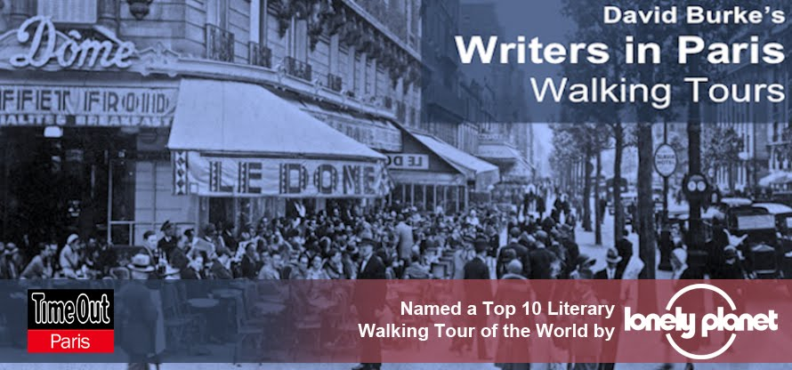 David Burke's Writers in Paris Walking Tours