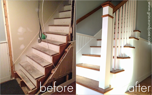 Our Renovation Story: Stair Design