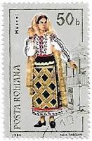 Selo Traje tradicional feminino