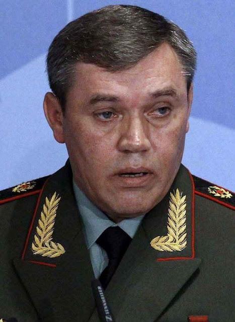 General Valery Gerasimov: uso escancarado de forças militares: só na fase final do conflito