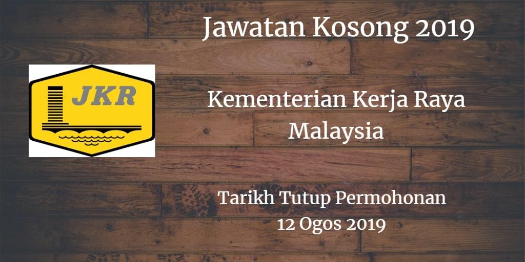 Jawatan Kosong KKR 12 Ogos 2019
