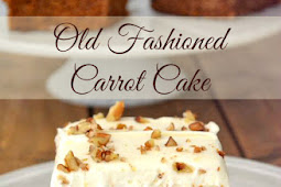 VINTAGE RECIPE OLD FASHIONED CARROT CAKE