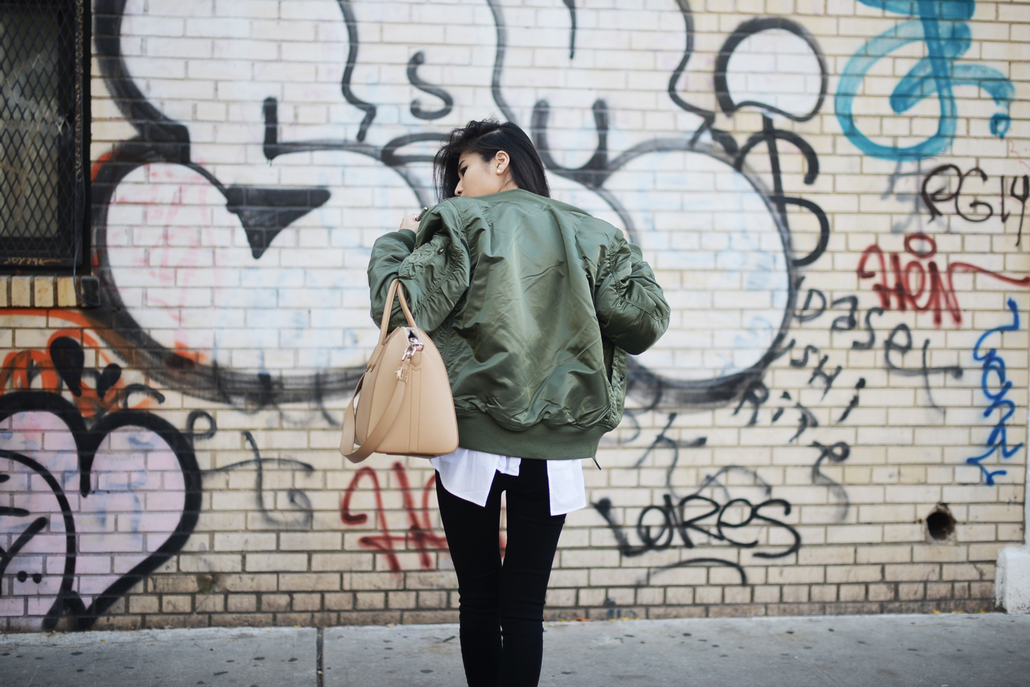 Alpha Industries Bomber Jacket FOREVERVANNY