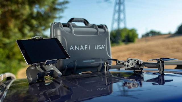 Il nuovo Anafi USA di Parrot avrà tre fotocamere con zoom a 32x e sarà resistente a pioggia e sabbia