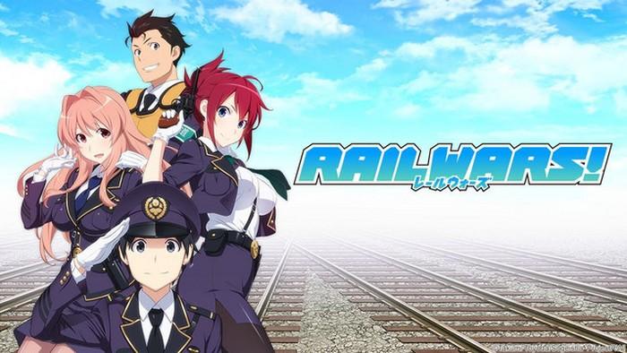 Rail Wars BD (Episode 01 – 12) Subtitle Indonesia