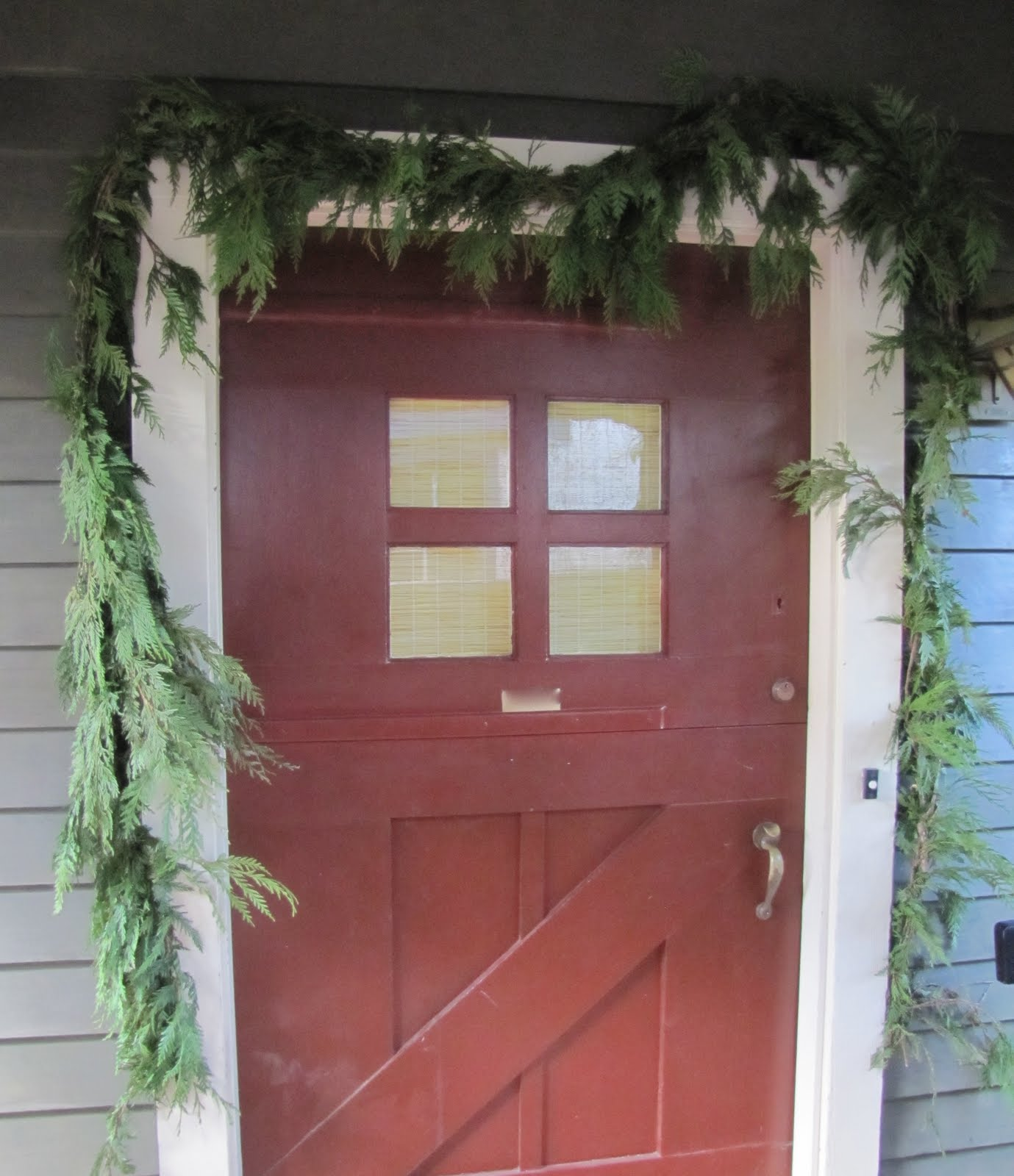 Homemade Beauties By Heidi: Coastal Christmas: Front Door ...